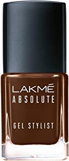 Lakmé Absolute Gel Stylist Nail Color, Deep Taupe, 12 ml