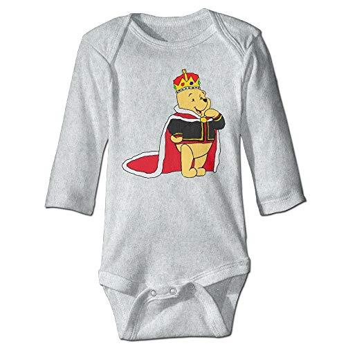 dsfsa Ropa para bebés Winnie The Pooh Baby Boy's & Girl'S Bodysuit Climbing Clothes (0-24 Months)