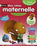 Mon cahier maternelle 2/3 ans by Anne Popet (2013-04-20) - Nathan - 20/04/2013