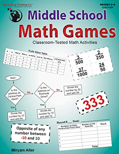Middle School Math Games: Classroom-Tested Math Activities (Grades 6-8)