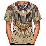 Xmiral Polo Uomo Manica Cortat Shirt Uomo Divertenti Vintage Tops Maglietta Maglia a Maniche Corte Tee Bodybuilding Maglietta (L,3Cachi)