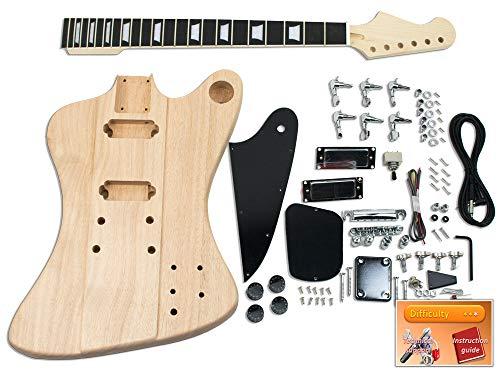 DiY E-Gitarren-Set, Gibson Firebird, Ebenholz