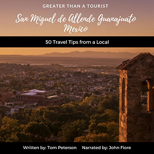Greater than a Tourist audiobook cover art