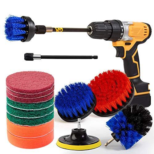 Bürstenaufsatz Bohrmaschine 14 Stück Für Alle Reinigungszwecke