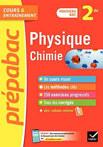 Physique-chimie 2de - Prépabac : nouveau programme de Seconde (2020-2021) (Cours et entraînement)