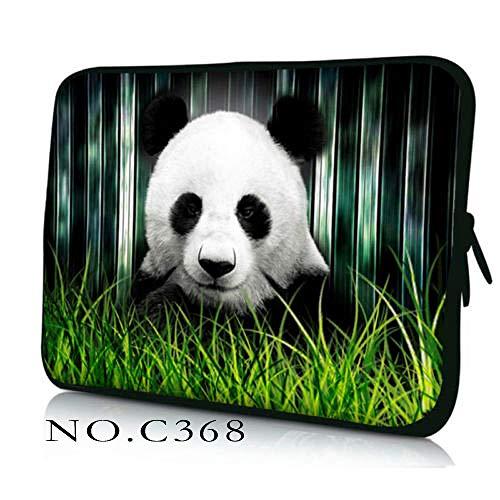 Caodong Multifunktional 7 9 7 10 10 1 11 6 12 13 13 3 14 14 4 15 15 6 17 17 3-Zoll-Laptop-Tasche Netbook-Hülle Notebook-Hülle Für HP ASUS Acer-Panda_10 Zoll