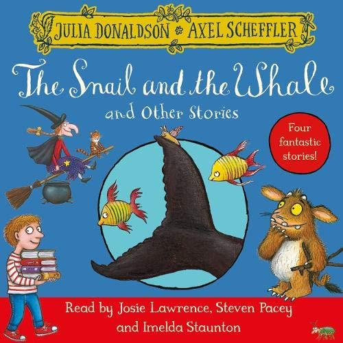 『The Snail and the Whale and Other Stories』のカバーアート