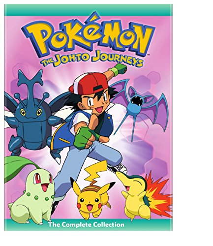 POKEMON: THE JOHTO JOURNEYS - COMPLETE COLLECTION - POKEMON: THE JOHTO JOURNEYS - COMPLETE COLLECTION (4 DVD)