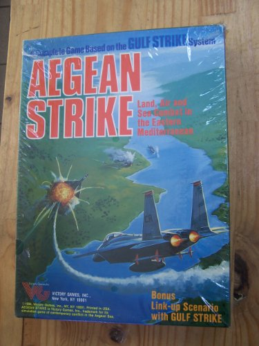 Aegean Strike (Victory Games Military Simulations, Game No. 30016)