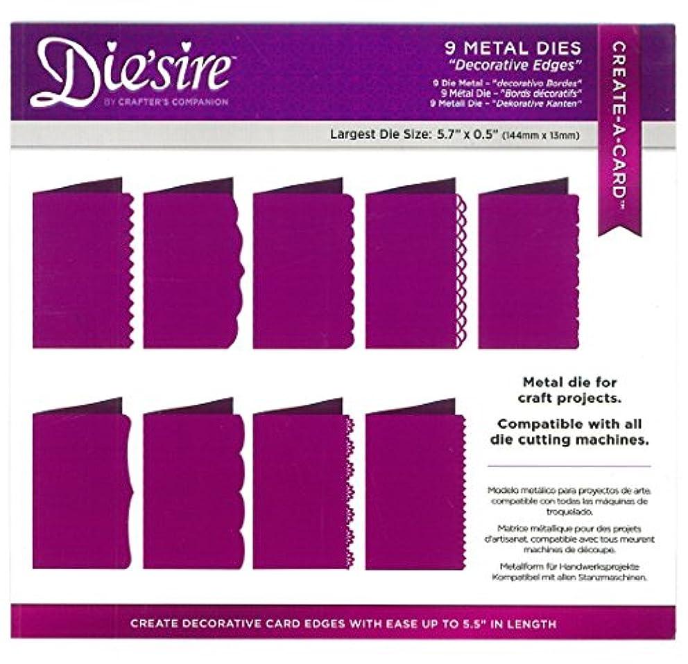 Die'sire DS-CADUS-Edge Thin Metal Die, Silver