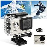 Duomishu Action Sport Kamera 4k HD Action Cam WiFi 1080P Outdoor-Action video Kamera, wasserdichtem...
