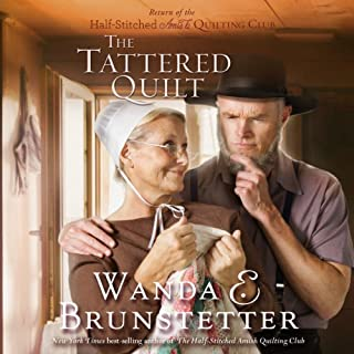 The Tattered Quilt audiobook cover art
