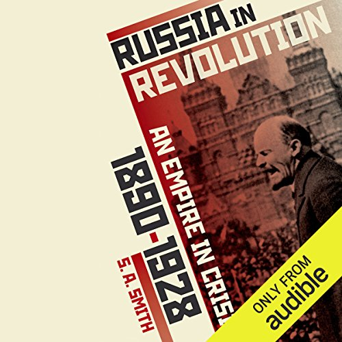 Russia in Revolution audiobook cover art