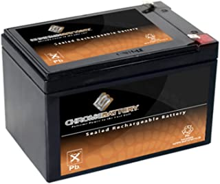 SLA Replacement Battery for 12V 15AH AGM Battery- Replaces cb12-12 np12-12 bp12-12 es12-12 ub12120- Chrome Battery