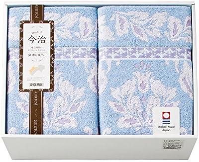 タオルケット(140×190cm) 2枚セット ブルー RR86020503