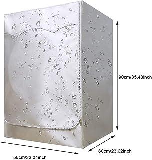 BAODANH Funda protectora para lavadora de carga frontal,