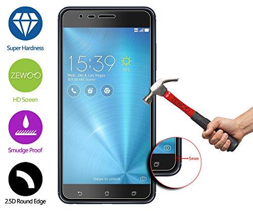 Pour Asus Zenfone 3 Zoom ZE553KL (5,5 Pouces) Protection écran en Verre Trempé ZeWoo® Film Protecteur d'écran (9H *2.5D, 0,33mm)