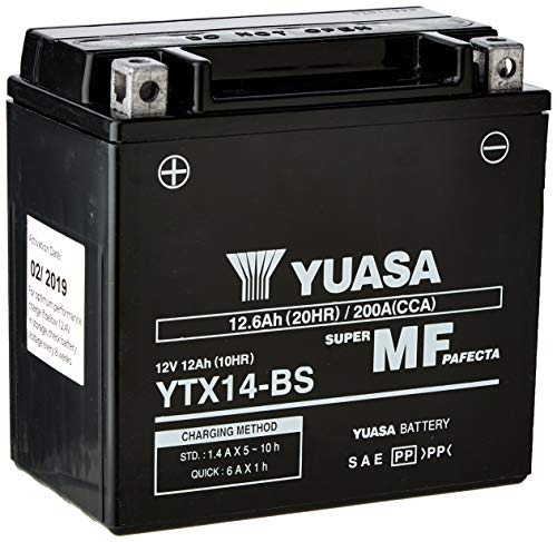 Yuasa YTX14-BS(WC) Batteria esente da manutenzione