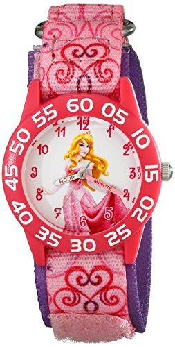 Disney Kids' W001668 Aurora Analog Display Analog Quartz Pink Watch