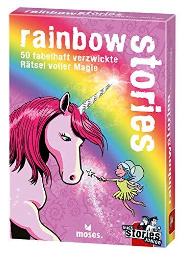 black stories Junior - rainbow stories: 50 fabelhaft verzwickte Rätsel voller Magie