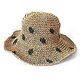 Sombrero Sol Mujer Algodon Plegable Cubrir Cara Protección Solar Sombrero De Paja Verano Salvaje Vacaciones@Una_56-58Cm