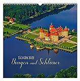 Kalender Burgen und Schlösser Sachsen 2021 | 30 x 30 cm