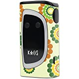 MightySkins Skin Compatible with Sigelei KAOS Spectrum Kit – Hippie Flowers | Protective, Durable, and Unique Vinyl Decal wrap Cover | Easy to Apply, Remove, and Change Styles | Made in The USA
