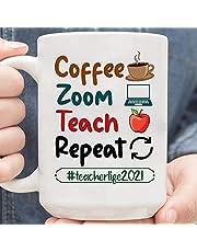 Café Zoom Teach Repeat Teacher Life 2021 Café