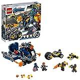LEGO Super Heroes L'Attacco del Camion Captain America e Hawkeye Set di Costruzioni per Bambini e Appassionati di Super Eroi Marvel Avengers, con Minifigure e Veicoli, +7 Anni, 76143