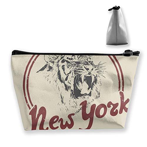 Trousse de toilette rétro Motif tigre de New York