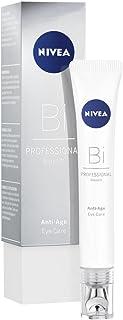 NIVEA PROFESSIONAL Bioxilift crema de ojos antiarrugas, crema antiedad para el contorno de ojos, crema reparadora para reducir las arrugas, las patas de gallo y las ojeras, para piel seca, 1 x 15 ml