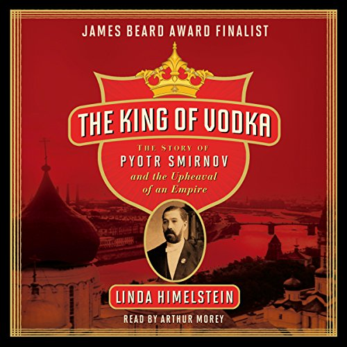 The King of Vodka audiobook cover art
