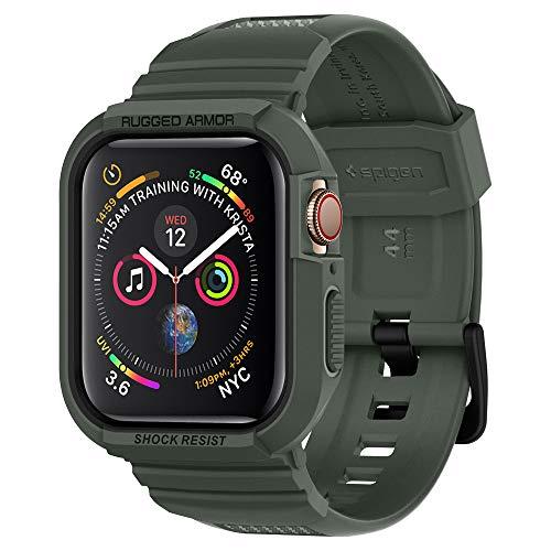Spigen Apple Watch 44mm Custodia, Rugged Armor PRO Progettato per Apple...