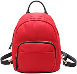 df617eef5084f SoonerQuicker Mini Bag Camouflage Unisex Leder Rucksack Laptop Retro Reise  Schule Rucksack Tasche