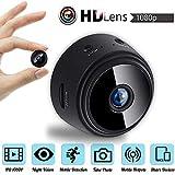 LEEBA Mini Cámara espía WiFi 1080P HD DVR Visión Nocturna para Seguridad Hogar