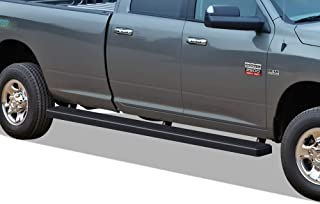 APS iBoard Running Boards (Nerf Bars Side Steps Step Bars) Compatible with 2009-2018 Ram 1500 Crew Cab Pickup 6.5ft Bed & 2010-2019 Ram 2500 3500 (Black Powder Coated 5 inches Wheel to Wheel)