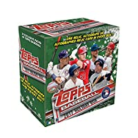 2017 Topps Baseball Holiday Box of 10 Exclusive Packs - One Relic, Autograph or Autographed Relic Card in Every Box (Possible Aaron Judge Autograph, Cody Bellinger Autograph and Others!) Free Shipping