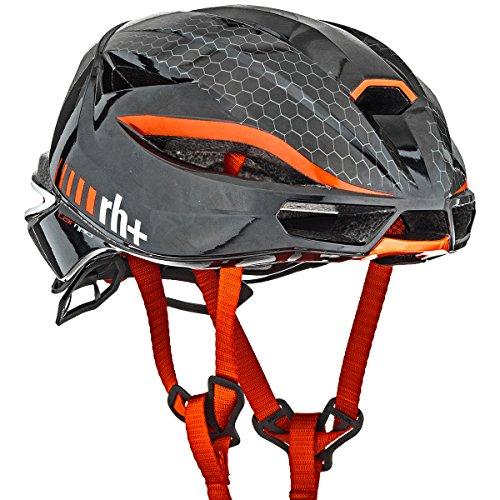 rh+(アールエイチプラス)ヘルメットヘルメットランボ[LAMBO]シャイニーブラック/シャイニーレッドL/XL(58-62)270gJCF公認EHX607701