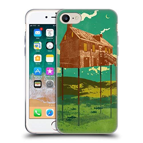 Head Case Designs Licenciado Oficialmente Showdeer Casa del río Collage Carcasa de Gel de Silicona Compatible con Apple iPhone 7 / iPhone 8 / iPhone SE 2020