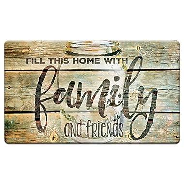 Counter Art 'Family Time' Anti Fatigue Floor Mat, 30 x 20