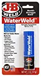 J-B WaterWeld Epoxy Putty 8277 - Adhesivo epoxi para metal