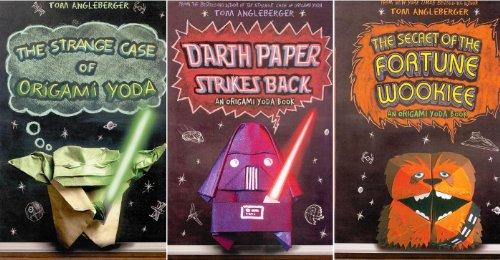 Origami Yoda Pack (Paperback Book Pack) : The Strange Case of Origami Yoda /Darth Paper Strikes Back /The Secret of the Fortune Wookiee (Origami Yoda)