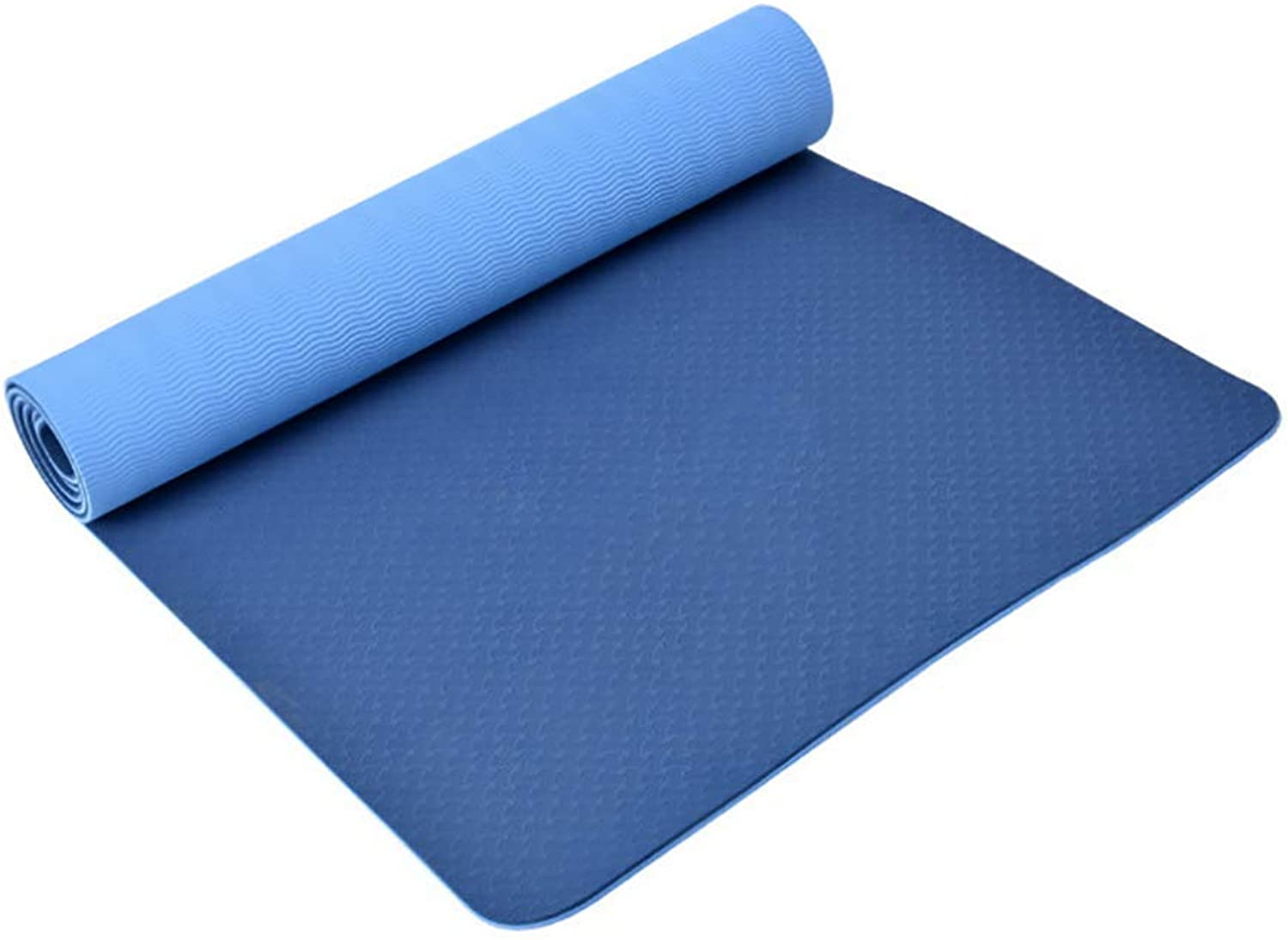 Yoga Mat, Eco-Friendly Material, Non-Slip, Extra Long and Wide, 183 X 61cm, TPE, Easy to Clean, Super Durable, Exercise and Fitness