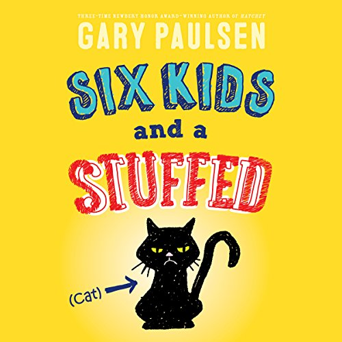 Six Kids and a Stuffed Cat audiobook cover art