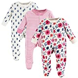 Touched by Nature Baby Organic Cotton Sleep and Play, Garden Floral, 6-9 Months