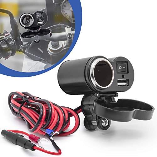 Motorfiets sigaretten aanmaakblokjes USB-aansluiting stekkerdoos adapter 5V poort bike stekker