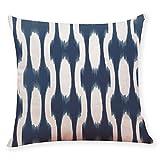 Fodere Per Cuscino Aiserkly Home Decor Fodere Per Cuscino Decorative in Stile Blu Scuro Per Auto (G,45x45 cm)