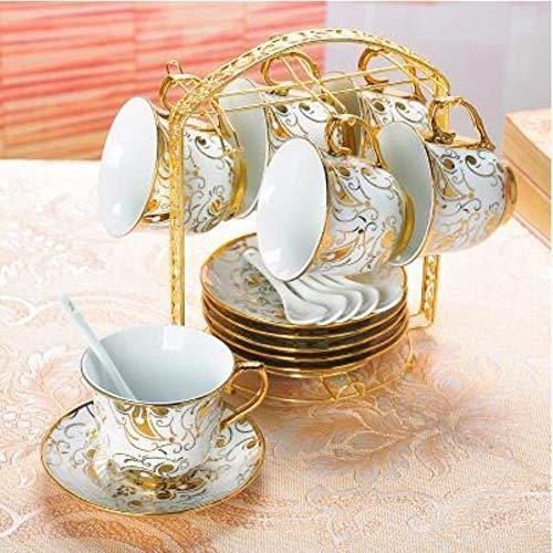 Koffie Cup Set Europese Koffie Cup Huishoudelijke Apparaten Woonkamer Decoratie Keramische Koffie Cup Paar naar De Beker 6 stuks