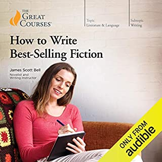 How to Write Best-Selling Fiction audiobook cover art