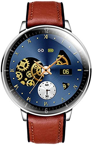 OH Moda Elegante Reloj de 1,28' Pantalla Táctil Completa Smartwatch, Ip68 a Prueba de Agua Rastreador de Ejercicios Reloj, Soporte 14 Idiomas, con Ritmo Cardíaco/Monitor Del Sueño